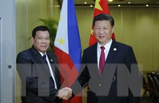 Quan hệ Trung Quốc-Philippines thay đổi từ khi ông Duterte nắm quyền