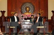 Hiện thực hóa các thỏa thuận hợp tác giữa TP Hồ Chí Minh và Leipzig