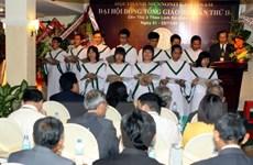 Khai mạc Đại hội đồng lần thứ 3 Hội thánh Mennonite Việt Nam