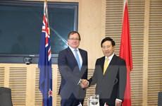 New Zealand luôn coi Việt Nam là đối tác ưu tiên trong khu vực