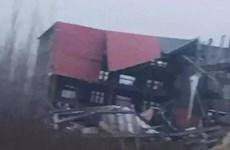 Sập nhà kinh hoàng tại Trung Quốc, 5 người bị chôn vùi
