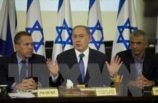 Thủ tướng Israel từ chối lời mời của Pháp tham dự hội nghị hòa bình