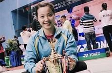 Nguyễn Thùy Linh giành ngôi vô địch giải cầu lông Nepal Mở rộng 2016
