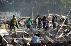 Liên tiếp xảy ra các vụ nổ pháo hoa gây thương vong ở Mexico