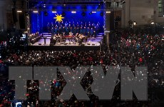 Thánh địa Bethlehem và toàn châu Âu đón mừng Giáng sinh