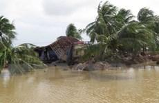 Bộ Ngoại giao quyên góp ủng hộ đồng bào bị thiệt hại do mưa lũ