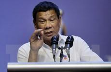 """Ông Duterte """"không lo ngại"""" vì Trung Quốc xây đảo nhân tạo ở Biển Đông"""
