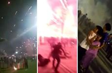 Malaysia: Nhiều người bị thương do sự cố bắn pháo hoa mừng Năm mới