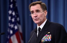 """Mỹ """"không quan tâm"""" đến cuộc tập trận Nga-Philippines"""