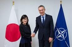 Bộ trưởng Quốc phòng Nhật Bản Tomomi Inada thăm trụ sở NATO