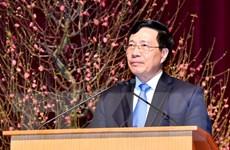 Phó Thủ tướng Phạm Bình Minh tiếp Phó Chủ tịch Ngân hàng AIIB