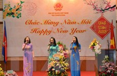 Cộng đồng người Việt tại Campuchia hân hoan đón Xuân Đinh Dậu 2017