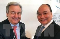 Thủ tướng tiếp nhiều quan chức cấp cao tại Hội nghị WEF 2017