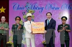 Chủ tịch nước Trần Đại Quang thăm, chúc Tết tại tỉnh An Giang