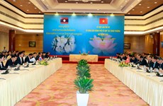Truyền thông Lào đồng loạt ca ngợi kết quả kỳ họp Liên Chính phủ