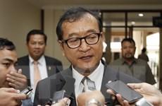Campuchia: Thủ lĩnh đối lập Sam Rainsy từ chức Chủ tịch đảng CNRP