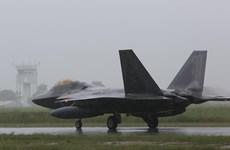 12 chiến đấu cơ của Mỹ đến Australia đối phó với Trung Quốc