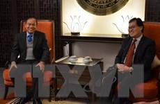 Giao lưu ngoại giao truyền thống Việt Nam, Lào tại Geneva