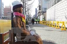 """Hàn Quốc yêu cầu di dời bức tượng """"phụ nữ mua vui"""" ở Busan"""