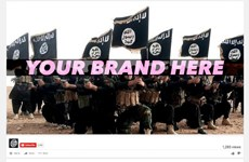 Quảng cáo đang xuất hiện trên các trang khủng bố và khiêu dâm