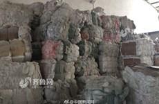 Bí mật gây sốc tại xưởng sản xuất bỉm người lớn từ rác thải tái chế