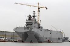 Pháp điều chiến hạm Mistral tham gia diễn tập ở Thái Bình Dương