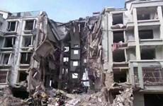 Chung cư phát nổ ở Trung Quốc làm hàng chục người thương vong