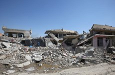 Iraq không kích gần biên giới Syria, tiêu diệt 150 tay súng IS