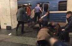 Hàng chục người thương vong trong vụ nổ ga tàu điện ngầm St Petersburg