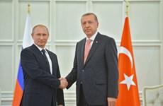 Ông Putin và ông Erdogan cùng quan điểm về vụ tấn công hóa học ở Syria