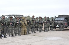Các lực lượng của NATO đã bắt đầu phục vụ tại Estonia