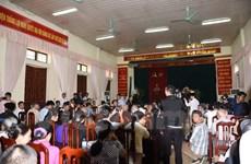 Toàn cảnh buổi đối thoại giữa Chủ tịch Hà Nội với người dân Đồng Tâm