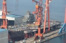 Trung Quốc sẵn sàng hạ thủy tàu sân bay tự đóng đầu tiên?