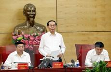 Chủ tịch nước đề nghị Nghệ An thực hiện tốt công tác quy hoạch
