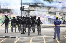 Brazil triển khai cảnh sát liên bang ổn định tình hình Rio de Jainero