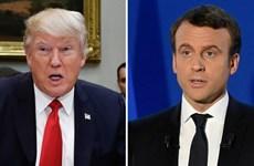 Ông Donald Trump chúc mừng Tổng thống đắc cử Emmanuel Macron
