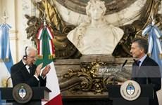 Argentina và Italy ủng hộ đẩy nhanh đàm phán FTA giữa Mercosur và EU