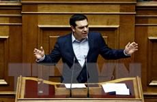 Quốc hội Hy Lạp thông qua gói thắt chặt tài chính lên tới 4,9 tỷ euro