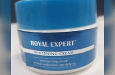 Phát hiện hàm lượng thủy ngân cao trong kem làm trắng da Royal Expert