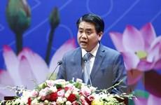 Chủ tịch UBND thành phố Hà Nội làm việc với các cán bộ ngoại giao