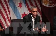 Ông Obama phản ứng về việc Mỹ quyết định rút khỏi Hiệp định Paris
