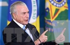 Bộ trưởng Tư pháp Brazil nghi ngờ bằng chứng tố cáo Tổng thống Temer