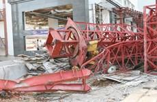 Nguyên nhân vụ sập cần cẩu tại công trường cầu Việt Trì-Ba Vì