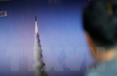 Quan chức Mỹ: Triều Tiên lại thử nghiệm động cơ tên lửa ICBM