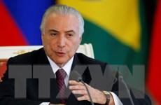 Brazil xác nhận bằng chứng về hành vi tham nhũng của Tổng thống Temer