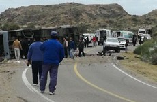 Xe buýt đâm trực diện vào xe tải, ít nhất 12 người thiệt mạng