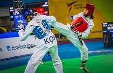 Taekwondo Việt Nam có tấm huy chương bạc đầu tiên ở giải thế giới