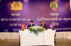 Hội nghị hợp tác an ninh Việt Nam-Lào lần thứ 8 tại Vientiane