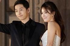 Cặp đôi Song Joong Ki và Song Hye Kyo sẽ kết hôn vào tháng 10