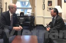 Đại sứ Việt Nam tại Hoa Kỳ Phạm Quang Vinh gặp Hạ nghị sỹ Rick Larsen
